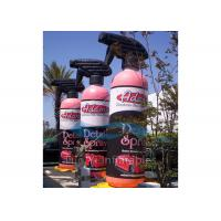 PVC Tarpaulin Custom Advertising Inflatable Bottles Inflatable Product Replicas Manufactures