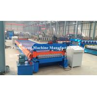 Easy Operated Roll Former Machine 4267 mm Roofing Sheets Manufacturing Machine Manufactures