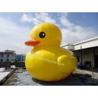 giant inflatable promotion duck duck swimming ring inflatable inflatable pool rubber duck Manufactures