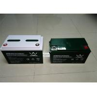 Black Front Access 12v Deep Cycle Battery  For Solar / Inverter , 150ah Capacity Manufactures