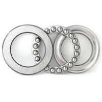 Thrust ball bearings 51200 with two chrome steel washers and a bronze ball complement Manufactures