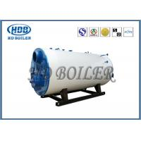 Industrial Steam Hot Water Boiler Oil / Gas Multi Fuel Horizontal Fully Automatic Manufactures