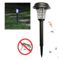 4500K - 5500K Outdoor Lawn Solar Lights , Bug Zapper Mosquito Solar Insect Killer Light Manufactures