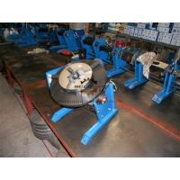 Manual Pipe Welding Positioners Table With Hand Wheel 0 - 90dgr Tilting Manufactures