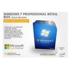 DirectX 9 Windows 7 Professional Retail Box 64 Bit COA License Key DVD Genuine Manufactures
