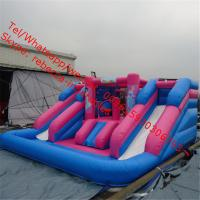 inflatable slide with pool Manufactures