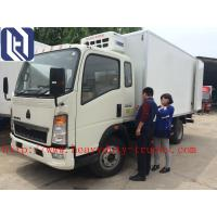 China Mini Light Duty Commercial Trucks Refrigerator 8 Ton For Meat , Milk And Cola Transport on sale
