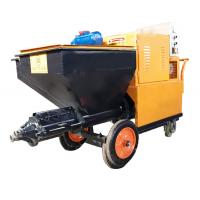 120L Capacity Wall Plastering Machine Mortar Spray Plaster Machine For Building Manufactures
