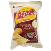 Back Seal Potato Chips Packaging , Custom Snack Food Packaging Bag Manufactures