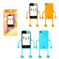 Lady Cute Cell Phone Protective Cases For iPhone , Robot Phone Case Manufactures