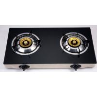 Electric Ignition Table Top Gas Stove With Tempered Glass Panel Manufactures