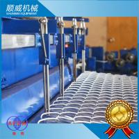 Quality Fully Automatic Chain Link Fence Machine PCL Control 3m Weaving Breadth for sale