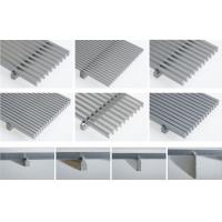Buy cheap DEWATERING SCREEN PANEL / JOHNSON SCREEN PLATE / V WIRE SLOT PANEL / WEDGE WIRE from wholesalers