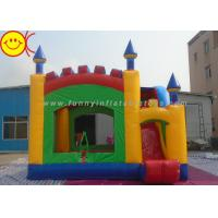 Durable PVC Commercial Inflatable Bouncers With Slide for Kids Manufactures