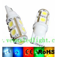 White Car T10 9-SMD Wedge 5050 LED Light bulbs 192 168 194 W5W 2825 158 Manufactures