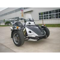 Racing Black Tricycle Motorcycle ATV 250CC With Two Seats Manufactures