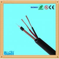 rg59 coaxial cable with power cable 75 ohms for cctv cabling system Manufactures