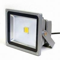 LED Floodlight with Long Lifespan, 1,400lm Luminous Flux and 17.5W Consumption Manufactures