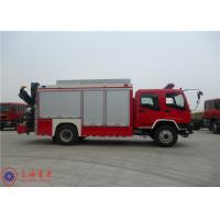 ISUZU Chassis Rescue Fire Truck Max Speed 95KM/H Traction Rope Length 28M Manufactures
