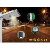 900LM - 950LM Smart All In One Solar Street Light 8W For Rural Road Manufactures