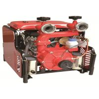 Two Stage High Pressure Water Pumps For Fire Fighting Middle Flow Double Cylinder Manufactures