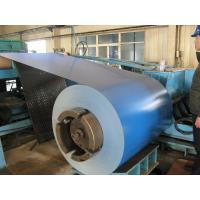 SGCC 508mm ID 0.23mm thickness 497mm width 80g Zinc Coating Sea Blue galvalume Color Coated Steel coil Manufactures