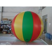 No priniting 2.5m dia. color mixed advertising balloon blimp Fireproof PVC Advertising Helium Balloons Manufactures