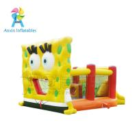 Quality Cheap big inflatable adult bounce house with slide for rental for sale