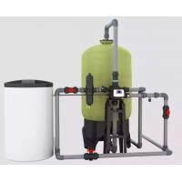 PLC Boiler Water Softener System , Ion Exchange Industrial Wastewater Treatment Manufactures
