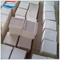 Dense cordierite alumina Ceramic Honeycomb monolith block for heat storage Manufactures