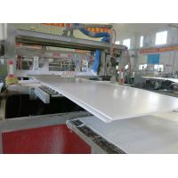 Electric PP Foam Plastic Sheet Making Machine Unique Stable Performance Manufactures