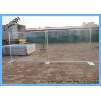 Buy cheap Hot Dipped Galvanized Site Security Temporary Mesh Fencing 2.4x2.1m Size AS 4687 from wholesalers