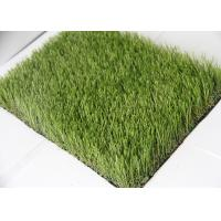 Professional Real Looking 30MM Artificial Grass Outdoor Carpet Latex Coating Manufactures