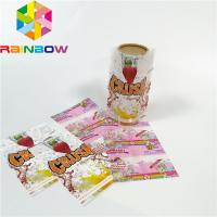Custom Printing Shrink Sleeve Labels Plastic PET/PVC Material Glossy Lamination Surface