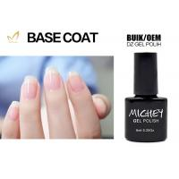 Easy Apply UV / LED Gel Base Coat , Transparent Base Coat On Natural Nails Manufactures