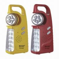 15-piece LED Rechargeable Emergency Lights with 5-piece Searchlight, 4V, 800Ah Battery Capacity Manufactures