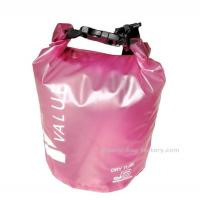 5L  Light-weight Outdoor Waterproof Dry Bags with Silk-screen Print Pink Manufactures