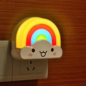 China Cheapest price led night light Kids Led rainbow Night Light lamps led christmas light on sale