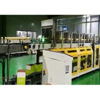 PLC Wrap Around Plastic Bottle Packaging Machine With LCD Touch Screen Manufactures