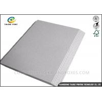 Mixed Pulp Laminated Packaging Materials Grey Board With Good Stiffness Manufactures
