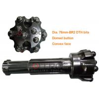 2 Inch DTH Drilling Tools Br2 DTH Mining Drill Head Erosion Resistant Manufactures