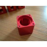 High-precision Red Color Anodized CNC Machining Aluminum Industrial Parts