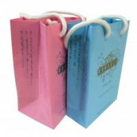 Quality Custom cheapest Colorful Recycling Paper Carrier Bag Printing Service for for sale