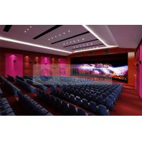 5.1 / 7.1 Sound system 4d movie theater , High definition Cinema Film with large flat screen Manufactures