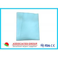 100 Gsm Ultra Size Disposable Dry Wipes For Bath Use , Pearl Small Dot Pattern Manufactures