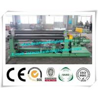 Mechanical Steel Plate Bending Machine , Hydraulic Steel Sheet Rolling Machine Manufactures
