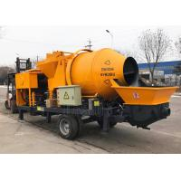 Mobile Self Loading Concrete Mixer With Pump Diesel Engine Type CE ISO Approved Manufactures