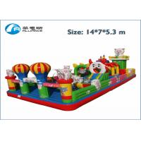 cute sheep inflatable jumping castle and slide combo Manufactures