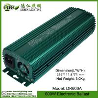 600W grow light for HPS/MH lamp of electronic ballast/ switchable dimming ballast Manufactures