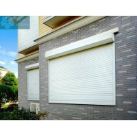 White 1.5mm Aluminum 1.5m Hieght Automatic Window Shutters Manufactures
